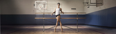 Misty Copeland, a soloist in the American Ballet Theatre, in Under Armour's I WILL WHAT I WANT(TM) campaign. (PRNewsFoto/Under Armour)