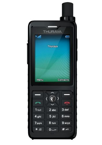 Designed for the professional user, Thuraya XT-PRO is the world's most advanced satellite phone. (PRNewsFoto/Thuraya Telecommunications)
