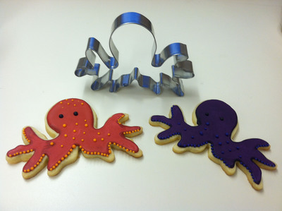 Octopi with cookie cutter image.  (PRNewsFoto/Oceana)