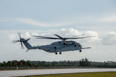 The second Sikorsky CH-53K aircraft achieves first flight.