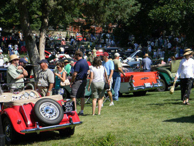 Art of the Car Concours is a major event sponsored by Aristocrat Motors to raise funds for local education.  (PRNewsFoto/Aristocrat Motors)