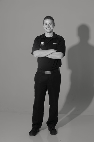 Cat Footwear signs No. 31 NASCAR crew chief, Luke Lambert, in Earthmovers Campaign.  (PRNewsFoto/Cat Footwear)