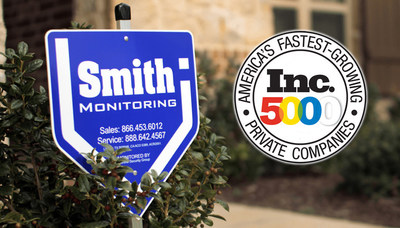 The name you can trust for home security services! (PRNewsFoto/Smith Monitoring)