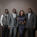 (From Left to Right): Thione Niang, AKON, Eunice Omole, and Samba Bathily