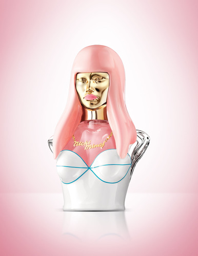 Multi-platinum Recording Artist NICKI MINAJ Introduces Pink Friday, Her Debut Fragrance.  (PRNewsFoto/Elizabeth Arden)