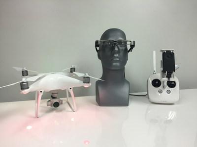 BT-300 with DJI drone