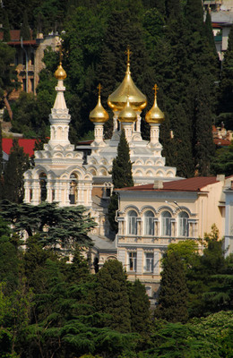 Yalta is just one of the many adventurous destinations Crystal offers for 2013.  (PRNewsFoto/Crystal Cruises)