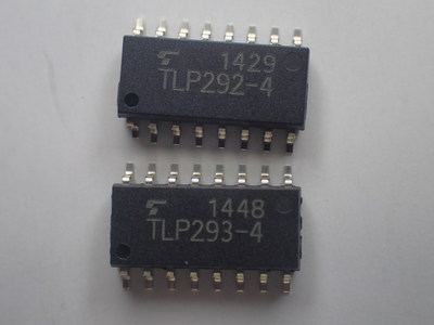 Toshiba's new TLP292-4 and TLP293-4 four-channel transistor photocouplers allow designers to meet the space saving requirements of increasingly smaller, thinner end products.