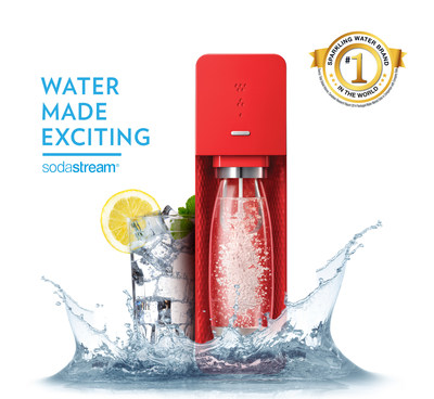 SodaStream is #1 Sparkling Water Brand in the World