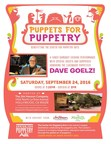 "THE JIM HENSON COMPANY HOSTS, ""PUPPETS FOR PUPPETRY"" FUNDRAISER TO HONOR THE ESTEEMED PUPPETEER DAVE GOELZ ON SEPTEMBER 24, 2016"