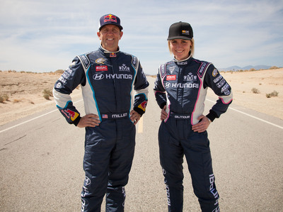 Hyundai And Rhys Millen Forge Formidable New Force To Compete In 2014 Global Rallycross Championship Series. (PRNewsFoto/Hyundai Motor America) (PRNewsFoto/HYUNDAI MOTOR AMERICA)