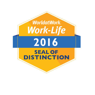 Otter Products LLC was awarded the WorldatWork Work-Life Seal of Distinction for 2016.