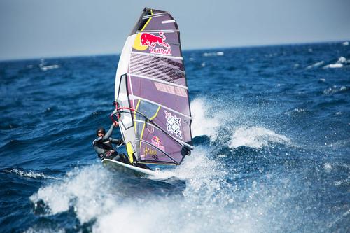 Red Bull Athlete Kai Lenny Wind Surfs Across Lake Michigan