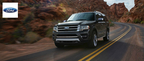 For the first time since its initial release, the 2015 Ford Expedition will offer a 3.5-liter EcoBoost V-6 engine. (PRNewsFoto/Matt Ford)