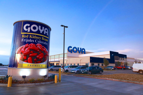 Goya Foods Opens New Houston Facility as part of a $250 Million Expansion of 4 New Facilities to support production.  (PRNewsFoto/Goya Foods)