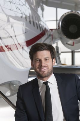 Olivier Zuber, Dassault's new Falcon Sales Manager for Africa.
