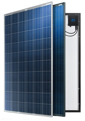ET Solar Launches New Generation AC Modules in Japan