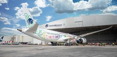 "Aeromexico's Boeing 787-9 ""Quetzalcoatl"" new images"
