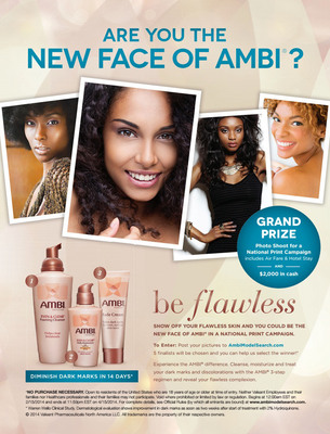 """AMBI is Looking for a """"New Face.""""  (PRNewsFoto/AMBI)"""