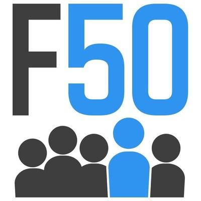 F50 Logo (PRNewsFoto/F50,Garage Technology Ventures)