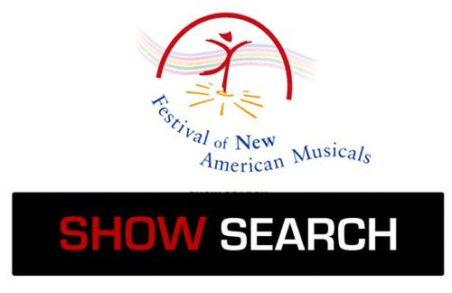 SHOWSEARCH logo.  (PRNewsFoto/Festival of New American Musicals)