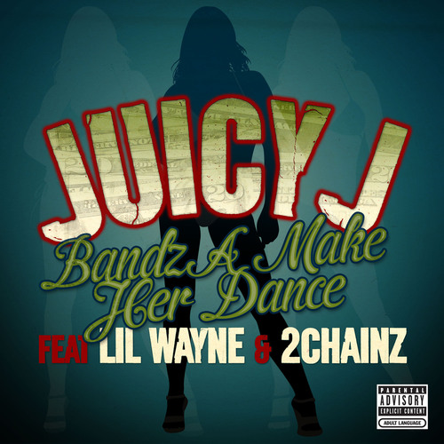 "Juicy J Is Back With Club Anthem ""Bandz A Make Her Dance.""  (PRNewsFoto/Columbia Records)"
