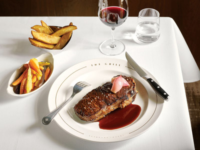 Thick-cut Prime NY Strip Steak by The Grill by Thomas Keller on board Seabourn Quest