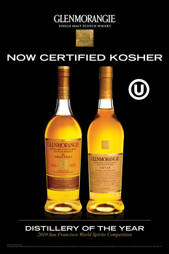 Glenmorangie, Scotland's Favorite Single Malt Scotch Announces OU Kosher Certification