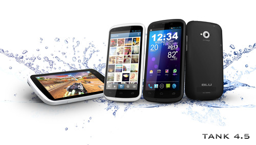 Tank 4.5.  (PRNewsFoto/BLU Products)