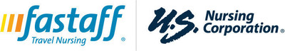 Fastaff, LLC and U.S. Nursing Corporation logo