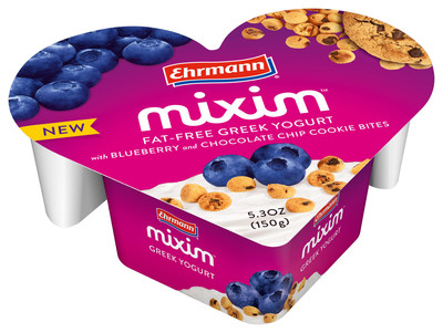 Ehrmann's MIXIM Blueberry Cookie Bites (PRNewsFoto/Ehrmann USA)