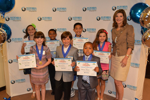 Astoria Federal Savings Announces Top Winners of Its Seventh Annual Teach Children to Save Essay