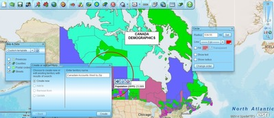 SpatialTEQ Releases MapBusinessOnline.com 4.2 Featuring Access to Census Tracts, MSAs, Zip 3s and Canadian Territory Mapping for Sales & Marketing Pros