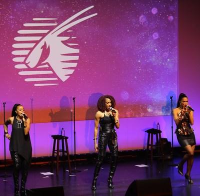 Qatar Airways' gala event in Boston featured a stunning musical performance by En Vogue