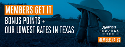 Marriott Texas summer campaign