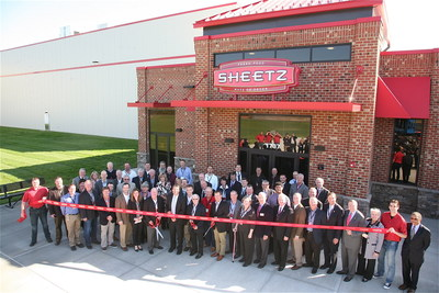 Ribbon cutting at new Sheetz distribution center in Burlington, NC