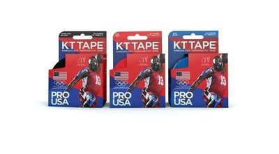 Team USA KT Tape Pro available in red, blue and black
