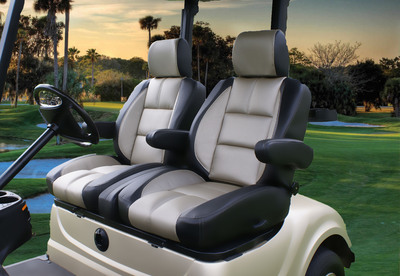 Ultimate Golf Seating's newest Supreme Sport Model.