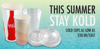 CupDepot Offers Karat® Straws & Kold Cups for Summer