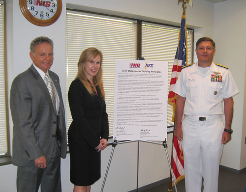 Navy Exchange Service Command Signs Memorandum of Understanding with National Industries for the