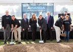 Amanda Manufacturing Leadership and Team Along With Ohio Elective Officials Break Ground on the $5 Million Expansion