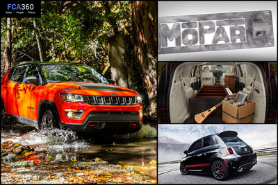 The December edition of FCA360 gives ideas to customize holiday gifts with Mopar(R) and Stow 'n Go seasonal goodies in the all-new 2017 Chrysler Pacifica along with Jeep(R) and FIAT brand product news. Check out https://www.fca360.com for more.