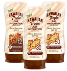 Hawaiian Tropic(R) Sun Care is taking its newest product - Hawaiian Tropic Silk Hydration(TM) lotion sunscreen - to the runway as the official sun care sponsor of Mercedes-Benz Fashion Week Swim 2013.  (PRNewsFoto/Energizer Personal Care/Hawaiian Tropic(R) Sun Care)