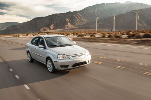 2012 CODA All-Electric Car (PRNewsFoto/CODA Automotive)