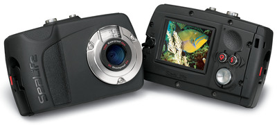 The new SeaLife Mini II Dive & Sport is a 9-megapixel go-anywhere digital camera that works as well below water as it does above.    (PRNewsFoto/SeaLife)