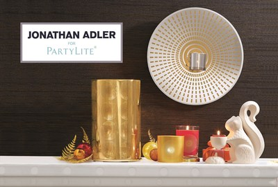 Jonathan Adler And PartyLite Collaborate On Fall 2014 Collection (PRNewsFoto/PartyLite)