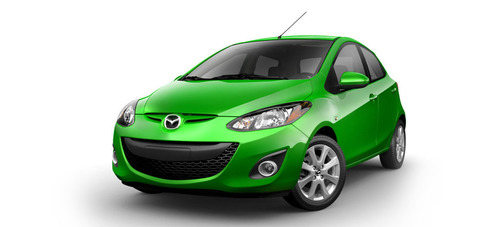 The 2014 Mazda2 delivers convenient standard features and strong fuel economy for an affordable new car price.  (PRNewsFoto/Bill Jacobs Automotive Group)