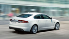 The 2014 Jaguar XF is not only extremely stylish, but powerful and efficient as well. (PRNewsFoto/Jaguar of Orland Park)