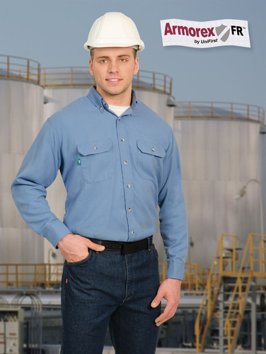 Under its Armorex FR(R) line of branded apparel, UniFirst offers such proven arc flash and flash fire ...