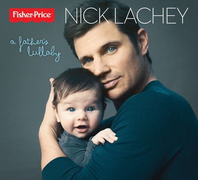 """Nick Lachey's """"A Father's Lullaby"""" available on iTunes and Amazon.com on March 13th. (PRNewsFoto/Fisher-Price) (PRNewsFoto/FISHER-PRICE)"""